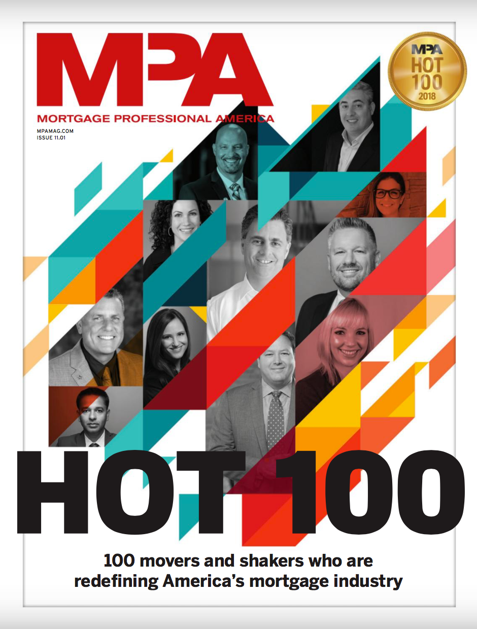 Hot 100 Movers and Shakers in Mortgage Industry - image